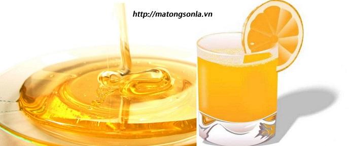 Mật ong nguyên chất kết hợp với cam giúp điều trị bệnh hen