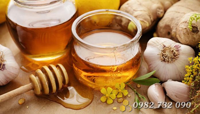 mật ong trị bỏng