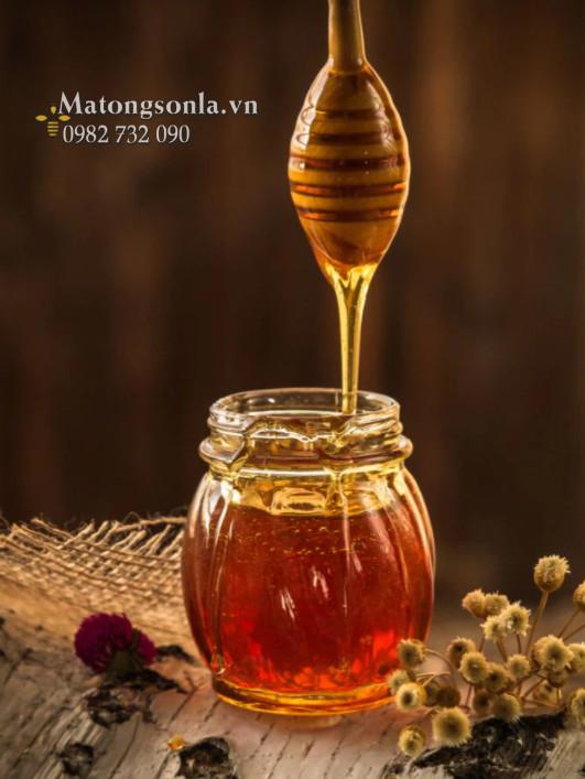 Mật ong tươi nguyên chất tự nhiên