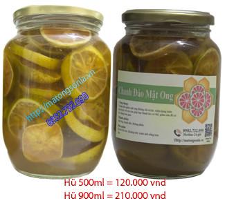 Chanh đào ngâm mật ong - Sản phẩm chữa ho hiệu quả cho trẻ em và người lớn tuổi