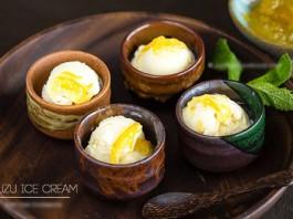 Món kem mật ong tươi mát ngày hè