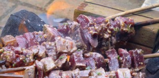 Món bò nướng mật ong nguyên chất thơm ngon