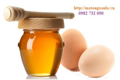 http://matongsonla.vn - Trứng gà và mật ong giúp tăng cân