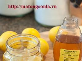 http://matongsonla.vn - Mật ong gừng chữa cảm lạnh