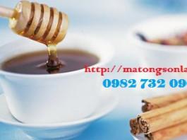 http://matongsonla.vn - Mật ong rừng nguyên chất và quế giúp giảm cân