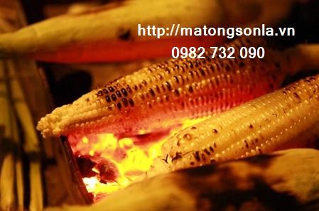 http://matongsonla.vn - Cách làm ngô nướng phết mật ong