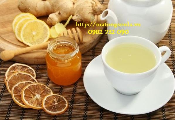 https://matongsonla.vn - trà gừng và mật ong chữa bệnh