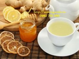 http://matongsonla.vn - trà gừng và mật ong chữa bệnh