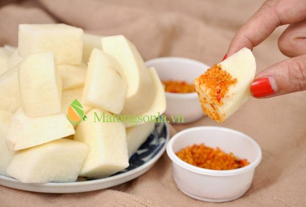 https://matongsonla.vn - Làm món nộm củ đậu chua cay dễ ăn