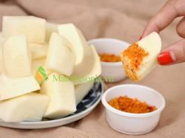 http://matongsonla.vn - Làm món nộm củ đậu chua cay dễ ăn