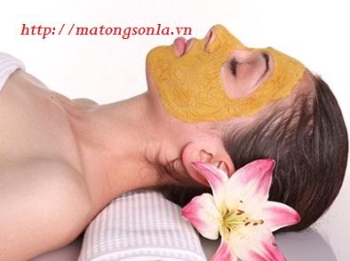 https://matongsonla.vn - mặt nạ dưỡng da mật ong bột nghệ