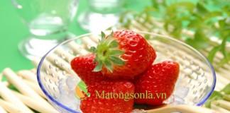 http://matongsonla.vn - Mặt nạ mật ong và dâu tây trị mụn