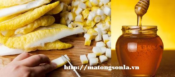 http://matongsonla.vn - Mật ong hấp quả phật thủ