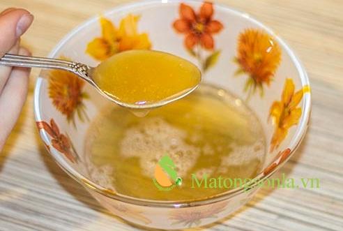 http://matongsonla.vn - mật ong và gelatin làm đẹp