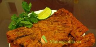 http://matongsonl.vn - Làm thịt bò khô không khó