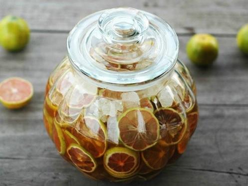 Lựa chọn loại mật ong ngâm chanh đào chất lượng nhát