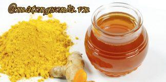 phương pháp sử dụng mật ong nguyên chất với nghệ để chữa bệnh