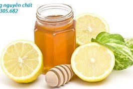 mật ong và chanh giúp điều trị bệnh hen